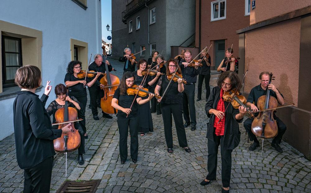 Das Kammerorchester Plena Voce